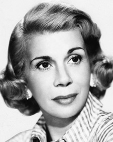Bea Benaderet played Principal Eve Goodwin